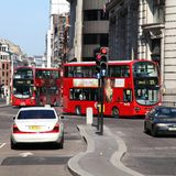 London-Verkehr Lizenzfreies Stockbild