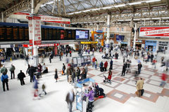 London Victoria Station Royalty Free Stock Photo
