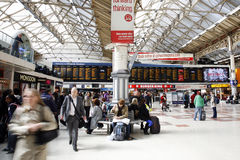 London Victoria Station Stock Images