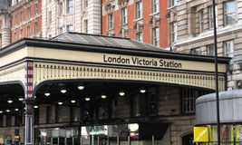 London victoria station Stock Photos