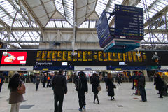 London Victoria Station Royalty Free Stock Photos
