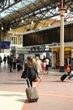 London Victoria Station Royalty Free Stock Photo