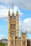 London - Victoria Tower Royalty Free Stock Photo