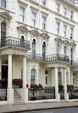 London Victorian townhouses Stock Photo