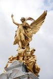 London - victory statue by Buckingham palace Stock Photo