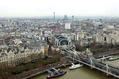 London view from above Royalty Free Stock Photos