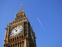 London view of the big ben Stock Images