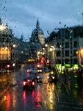 London. View from the bus in London City Royalty Free Stock Photo