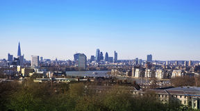 LONDON, view city of London, UK Royalty Free Stock Images