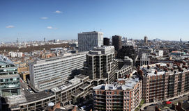 London view of city of Westminster Stock Photos