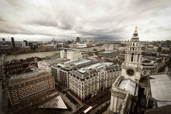 London View From St. Paul Stock Photography