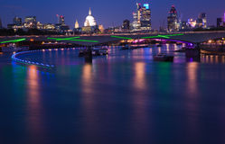 London, view over Thames Royalty Free Stock Images