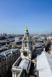 London - view from Saint Paul's Cathedral Royalty Free Stock Images