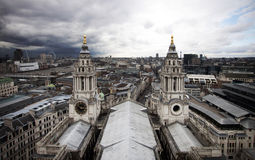 London view from St. Paul Royalty Free Stock Photos