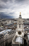 London view from St. Paul Stock Image