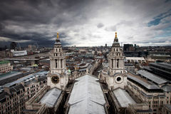London view from St. Paul Royalty Free Stock Image