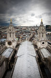 London view from St. Paul Stock Photos