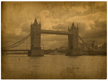 London. Vintage Westminster Abbe Royalty Free Stock Images