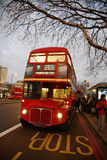 London-Weg-Hauptbus Lizenzfreies Stockbild