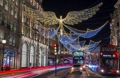 London-Weihnachtslichter Lizenzfreie Stockbilder