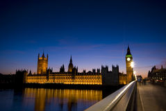 London Westminster Lizenzfreies Stockfoto