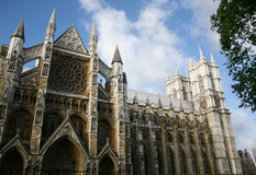 London Westminster abbey Obrazy Royalty Free