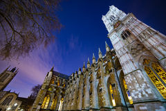 London. Westminster Abbey English church London    old architecture  Europe Stock Image