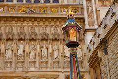 London Westminster Abbey facade Royalty Free Stock Photography