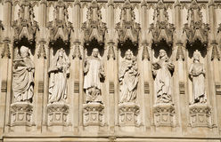 London - Westminster abbey - saints Stock Image