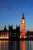 London Westminster with Big Ben Royalty Free Stock Photos