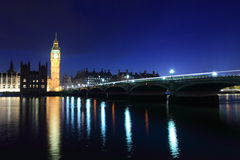 London Westminster with Big Ben Stock Photography