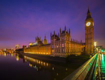 London. Westminster Bridge  House of Parliament  Big Ben Thames River Capital of England  London Eye London Europe Stock Photography