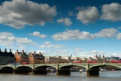 London westminster bridge Stock Images