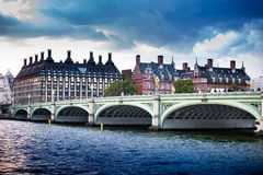 London. Westminster Bridge Thames River Capital of England London Europe Stock Image