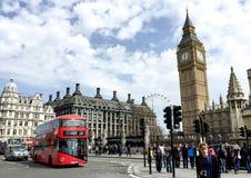 London Westminster område, UK Arkivbild