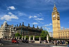 London Westminster Parliament Royalty Free Stock Image