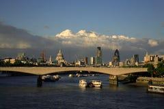 London widok miasta Obrazy Royalty Free