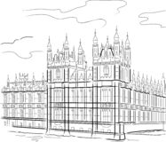 london wierza Obrazy Royalty Free