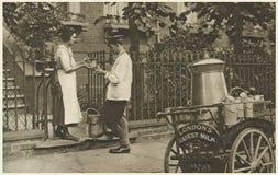 London's safest milk Royalty Free Stock Image