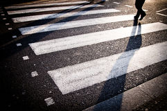 London-Zebrastreifen Lizenzfreies Stockfoto