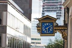 london zegarowa ulica Obrazy Royalty Free