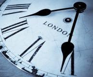 London-Zeit Stockbild