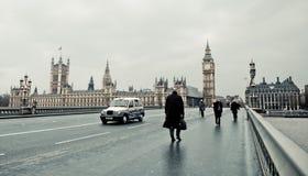 london zima Zdjęcia Royalty Free