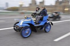 London zu Brighton-Veteranen-Auto-Lack-Läufer 2011 Lizenzfreie Stockbilder