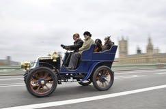 London zu Brighton-Veteranen-Auto-Lack-Läufer 2011 Lizenzfreies Stockfoto