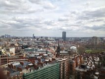 Londond夏天颜色地平线视图 库存照片