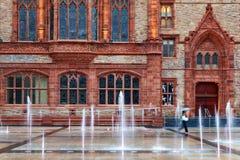 Londonderry Guildhall Royaltyfri Fotografi