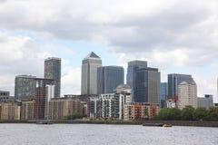 Londonfinanznabe Stockfoto