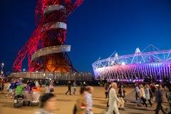 LONDONolympics-STADION 2012 Lizenzfreies Stockbild