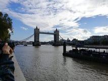 Londons塔桥梁 库存图片